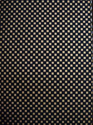 Black an Gold Checkerboard